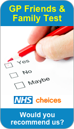 Would you recommend High Street Surgery to Friends and Family?